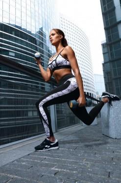 Sports Leggings - Fitness Pants L9020 - XL