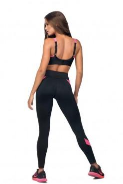 Sports Leggings - Fitness Pants L9034 - XL